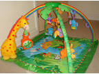 Fisher Price Rainforest Melodies and Lights Gym NEW