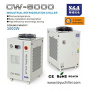 S&A industrial chiller for welding,  plasma cutting and laser equipment